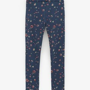 Zara Robbed Printed Legging.size:10 years
